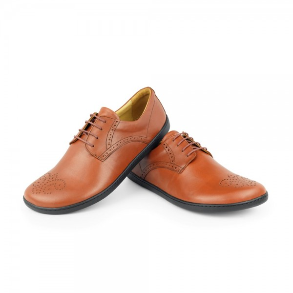 PEAQ Brogue Cognac