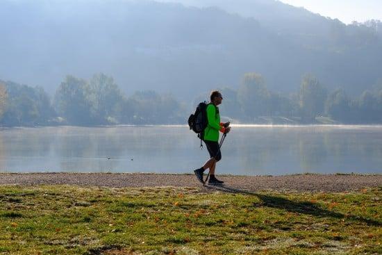 Nordic-Walking-Barfussschuhe