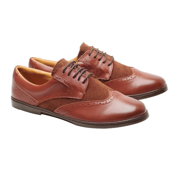 BRIQ Brogue Antique Cognac