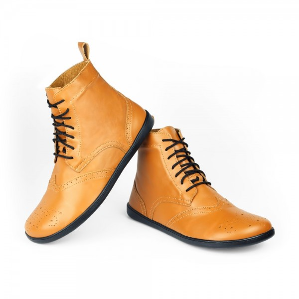 QUINTIC Brogue Cognac