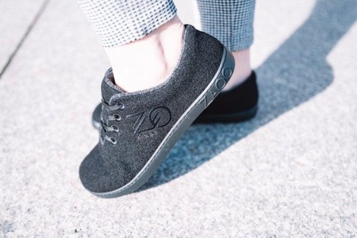 Schuhe-Merinowolle