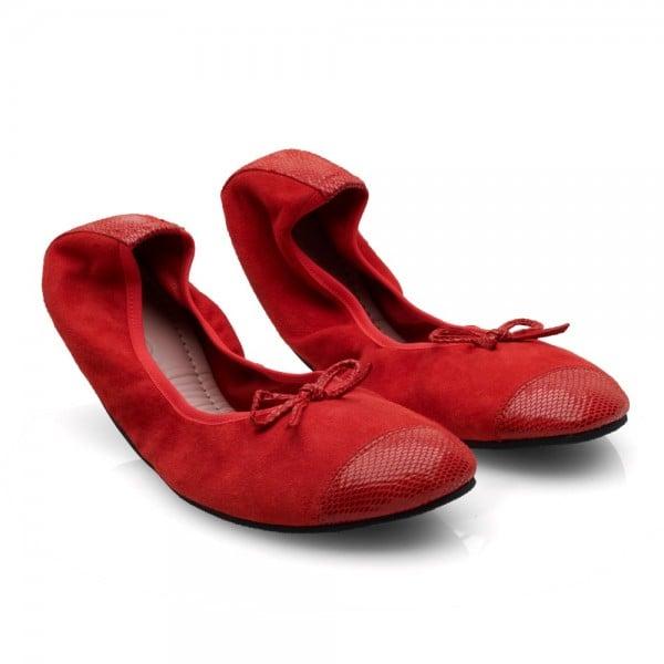 TWIST Velours Red