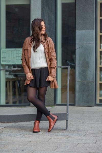 Chelsea-Boots-Barfussschuhe-braun