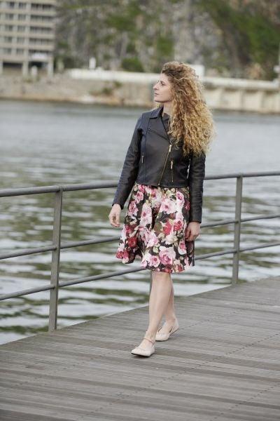 Sommerkleid-Barfussschuhe